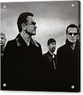 U2 Acrylic Print by Paul Meijering