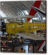 Udvar-hazy Center - Smithsonian National Air And Space Museum Annex - 1212107 Acrylic Print by DC Photographer