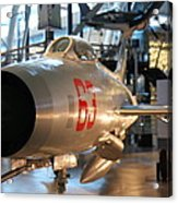 Udvar-hazy Center - Smithsonian National Air And Space Museum Annex - 121234 Acrylic Print by DC Photographer
