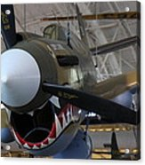 Udvar-hazy Center - Smithsonian National Air And Space Museum Annex - 12124 Acrylic Print by DC Photographer