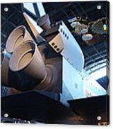 Udvar-hazy Center - Smithsonian National Air And Space Museum Annex - 121272 Acrylic Print by DC Photographer