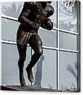 Uf Heisman Winner Tim Tebow  Acrylic Print by Lynn Palmer
