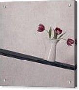Unbalanced Flowers Acrylic Print by Joana Kruse