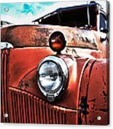 Uncle Mater Acrylic Print by Justin  Curry
