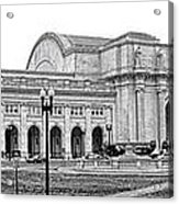 Union Station Washington Dc Acrylic Print by Olivier Le Queinec