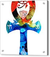 Unity 16 - Spiritual Artwork Acrylic Print by Sharon Cummings