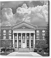 University At Albany Draper Hall Acrylic Print by University Icons