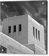 University Of New Mexico Mesa Vista Hall Acrylic Print by University Icons