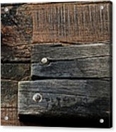 Unnecessary Repairs Acrylic Print by Odd Jeppesen