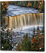 Upper Tahquamenon Falls  Acrylic Print by Todd Bielby