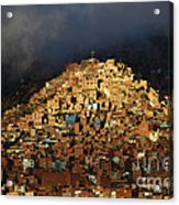 Urban Cross 2 Acrylic Print by James Brunker