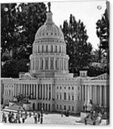 Us Capitol Acrylic Print by Ricky Barnard