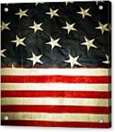 Usa Stars And Stripes Acrylic Print by Les Cunliffe