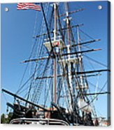 Uss Constitution Acrylic Print by Kristin Elmquist