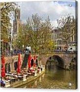 Utrecht Acrylic Print by Joana Kruse
