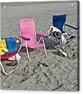 Vacation Time Acrylic Print by Valerie Garner