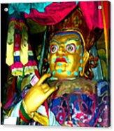 Vaishravana 1 Acrylic Print by Lanjee Chee