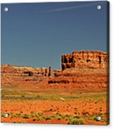 Valley Of The Gods - See What The Gods See Acrylic Print by Christine Till