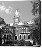 Vanderbilt University Benson Hall Acrylic Print by University Icons