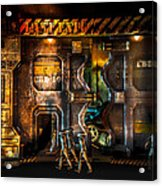 Vanishing Memory Machine Acrylic Print by Bob Orsillo