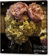 Vase Of Flowers Acrylic Print by Madeline Ellis