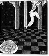 Vaslav Nijinsky In Scheherazade Acrylic Print by Georges Barbier