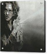 'vedder Iv' Acrylic Print by Christian Chapman Art
