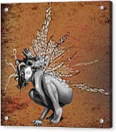 Venetian Fairy Acrylic Print by Kd Neeley