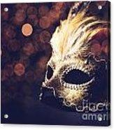 Venetian Mask Acrylic Print by Jelena Jovanovic