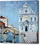 Venice - Scuola Di San Marco Acrylic Print by Irek Szelag
