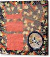 Vernal Equinox Hare Acrylic Print by Ellen Miffitt