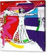 Vetruvian Acrylic Print by Jean Pierre Rousselet