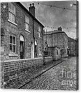 Victorian Street Acrylic Print by Adrian Evans