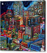 View From Hemisphere Acrylic Print by Patti Schermerhorn