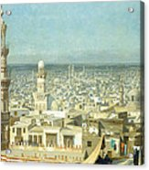 View Of Cairo Acrylic Print by Jean Leon Gerome