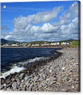 Village By The Sea - County Kerry - Ireland Acrylic Print by Aidan Moran