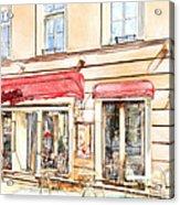 Vilnius Windows 3 Acrylic Print by Yury Malkov