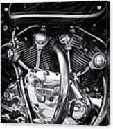 Vincent Engine Acrylic Print by Tim Gainey