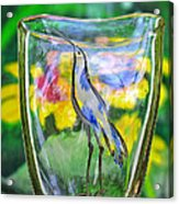 Vinsanchi Glass Art-2 Acrylic Print by Vin Kitayama