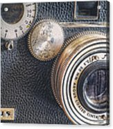 Vintage Argus C3 35mm Film Camera Acrylic Print by Scott Norris