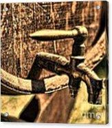 Vintage Barrel Tap Acrylic Print by Paul Ward