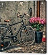 Vintage Bicycle Acrylic Print by Dobromir Dobrinov