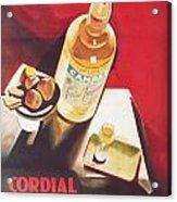 Vintage Campari Acrylic Print by Georgia Fowler