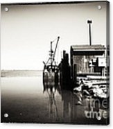Vintage Lbi Bay Acrylic Print by John Rizzuto
