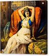 Vintage Nostalgic Poster - 8037 Acrylic Print by Wingsdomain Art and Photography