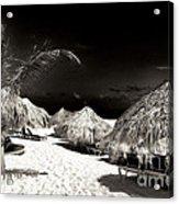 Vintage Tikis Acrylic Print by John Rizzuto