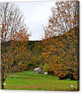 Virginia Fall Acrylic Print by Todd Hostetter