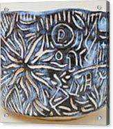 Wabi-sabi Bowl Acrylic Print by Janpen Sherwood