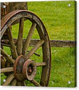 Wagons West Acrylic Print by Tikvah's Hope