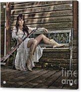 Waiting Acrylic Print by Naman Imagery